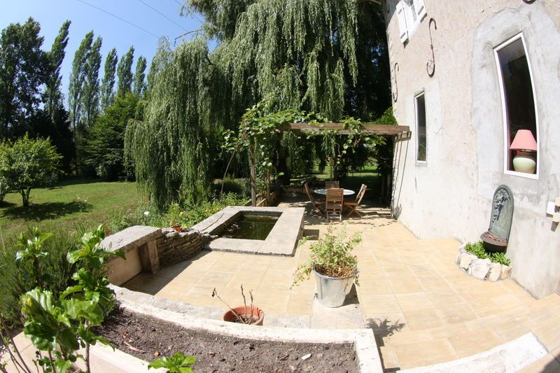 Vue jardin terrasse
