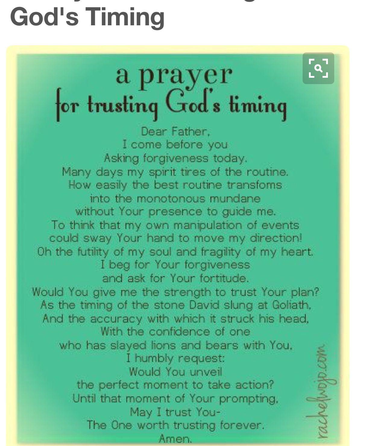 Pin by Khandis on faith   Trust god, Trust gods timing, Prayer