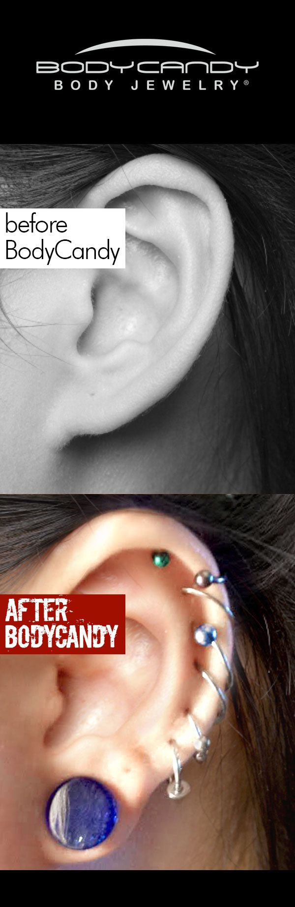 White nose piercing bump  Your sense of style is unique so stand out in a crowd Body jewelry