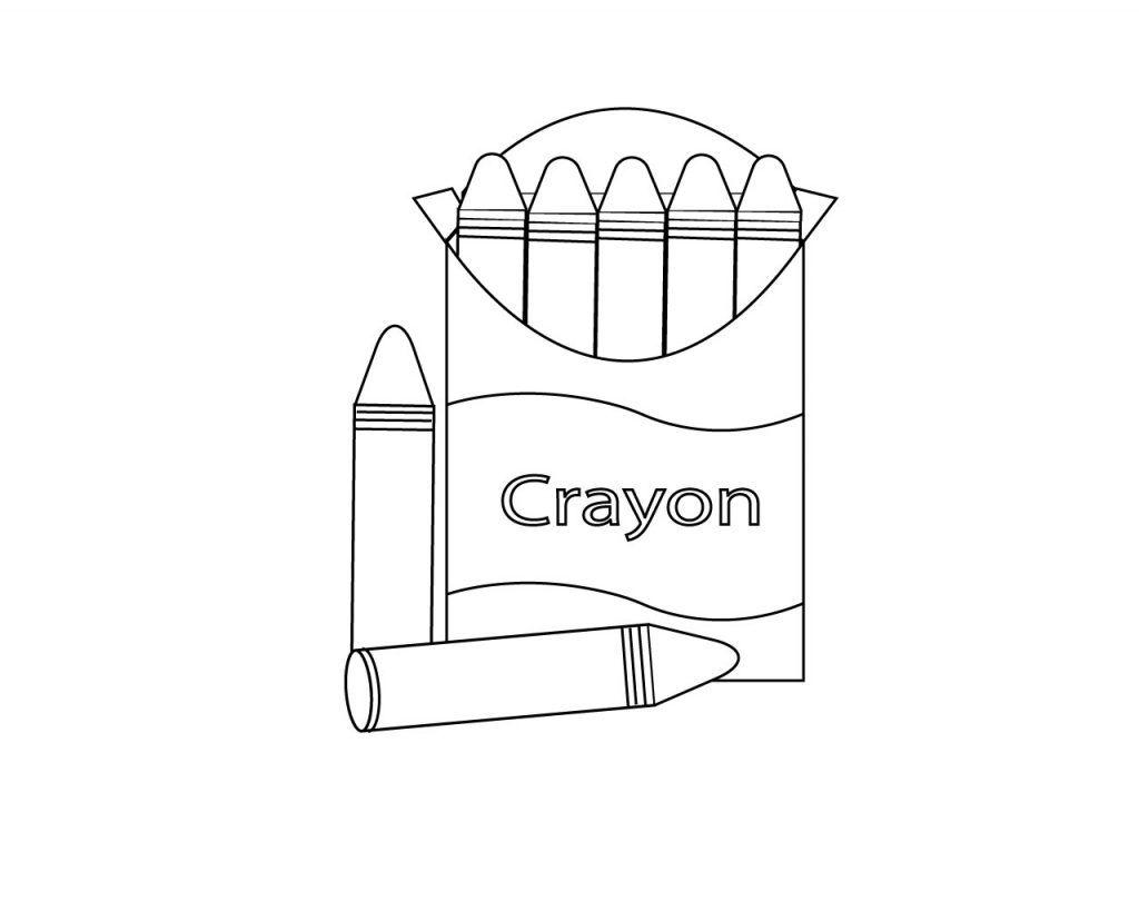 Crayon Box Coloring Pages Crayola Coloring Pages School Coloring Pages Coloring Pages