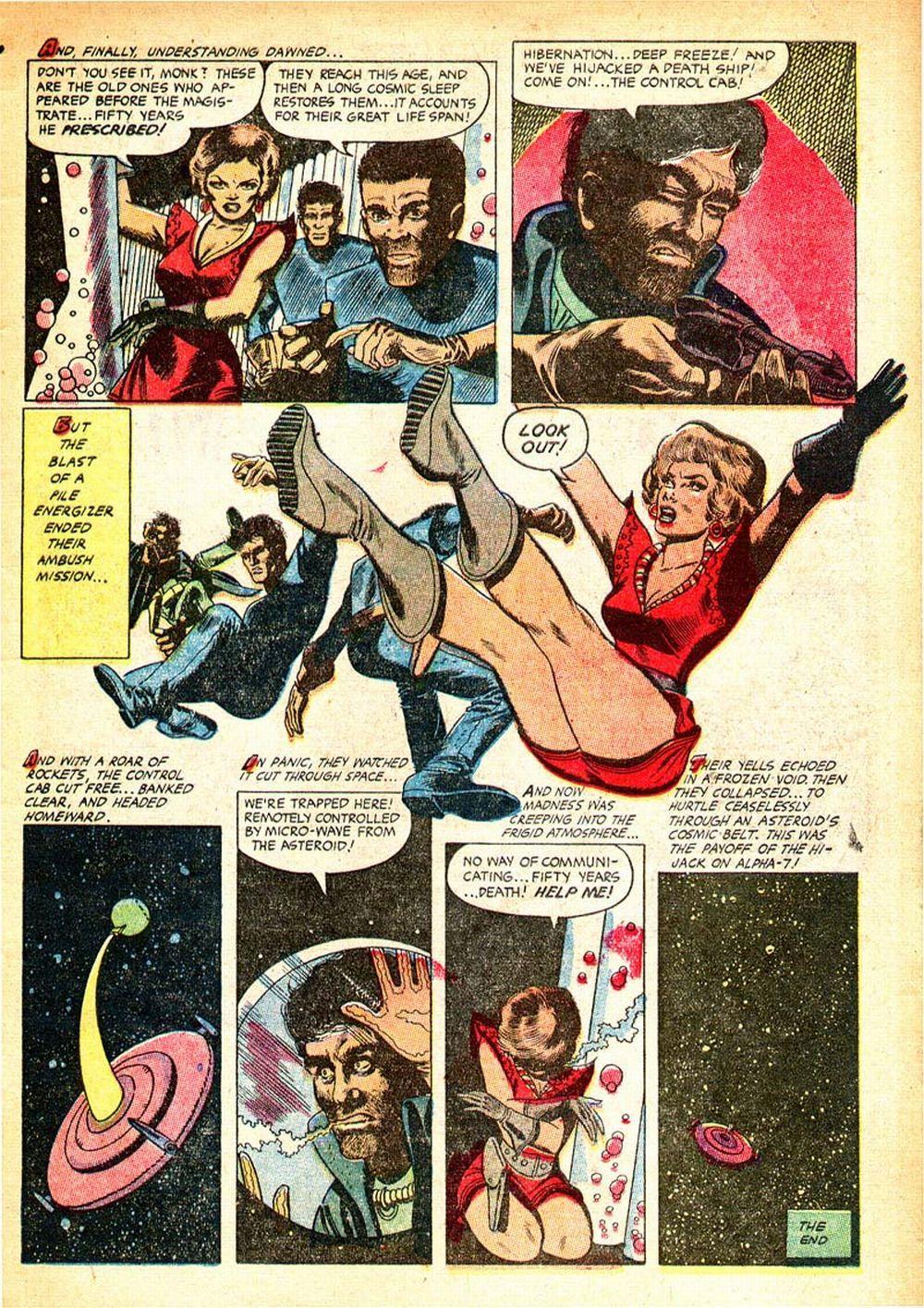 Sexe de bande dessinée Babes