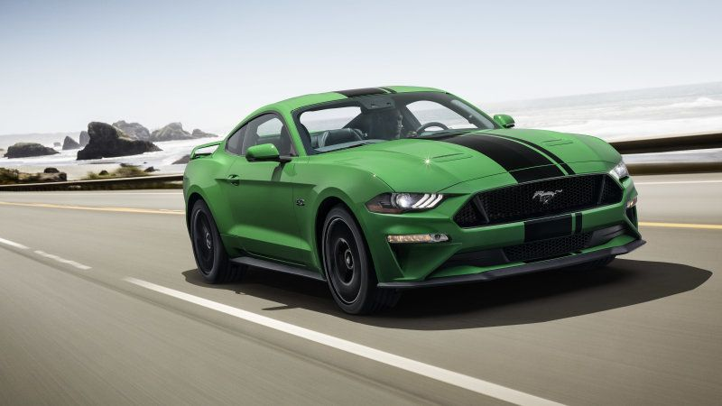 Ford Mustang Has A Bright New Paint Color Need For Green Green