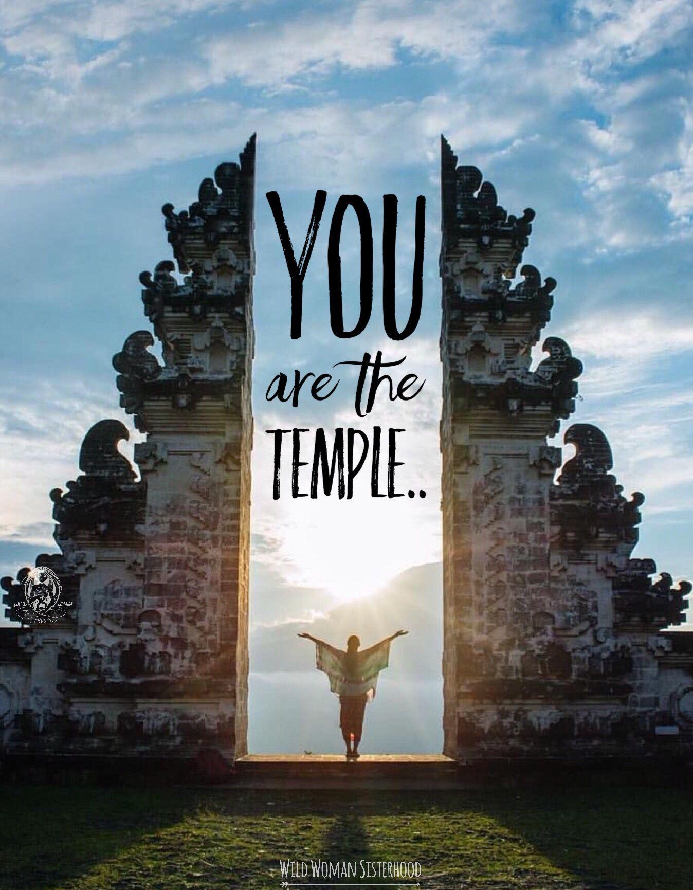Você é seu templo ! Seja Luz ! Faça o Bem, por mais turbulento que seja ao seu redor.