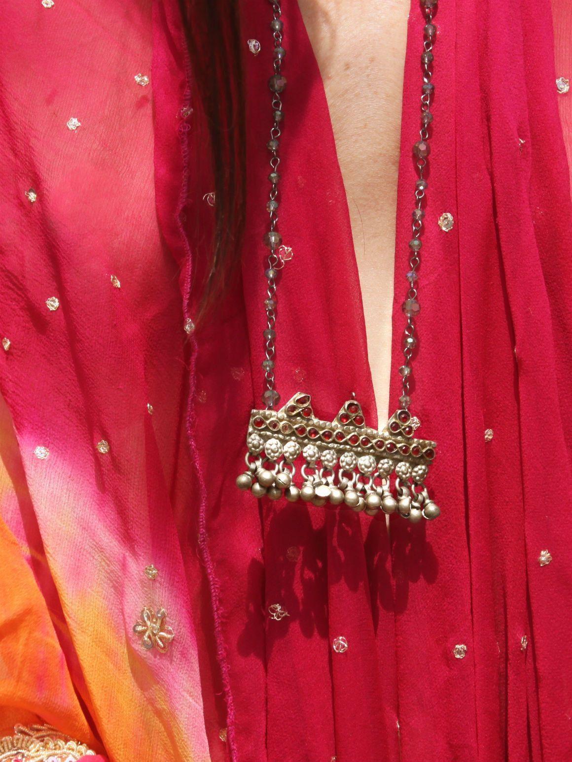 Long Kuchi Layering Necklace