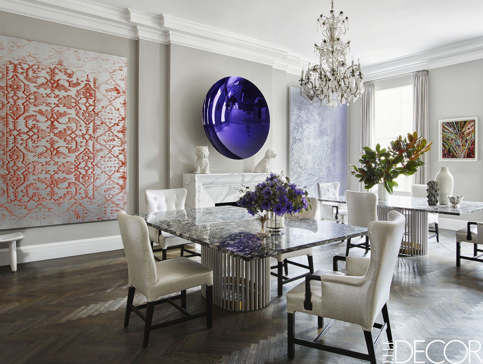 These Decorating Tips Will Take Your Home to the Next Level | Farmhouse  dining rooms decor, Elegant dining room, Farmhouse dining room