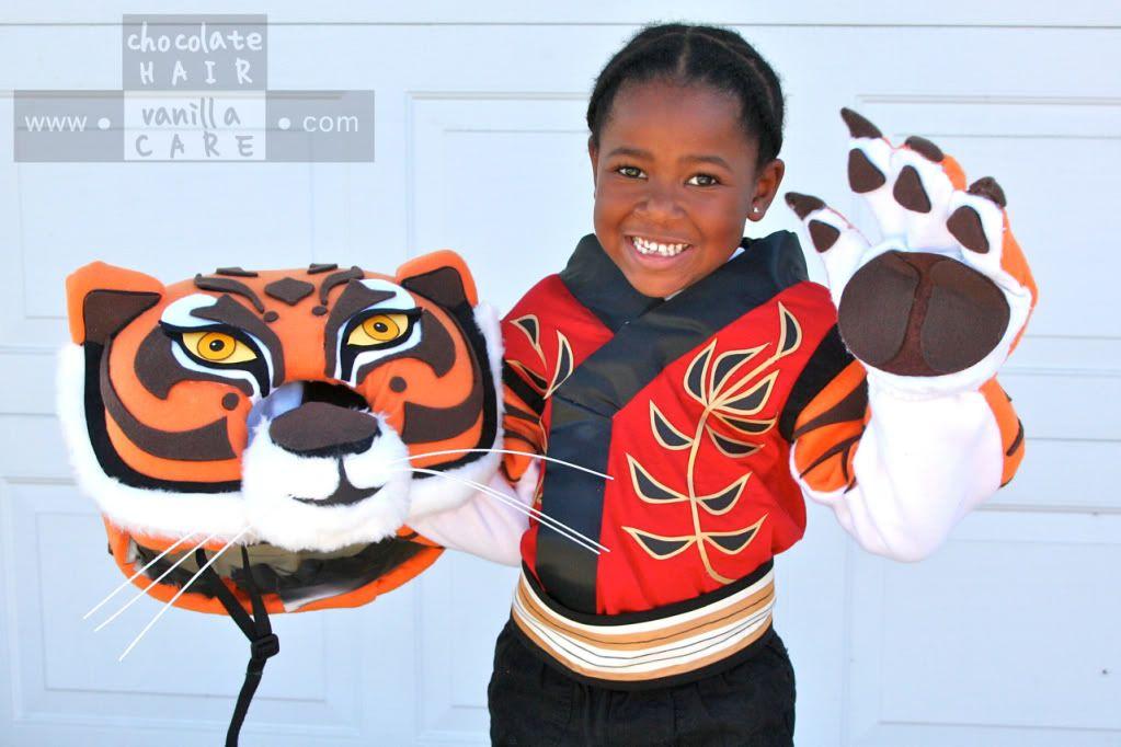 Homemade Master Tigress Costume From Kung Fu Panda