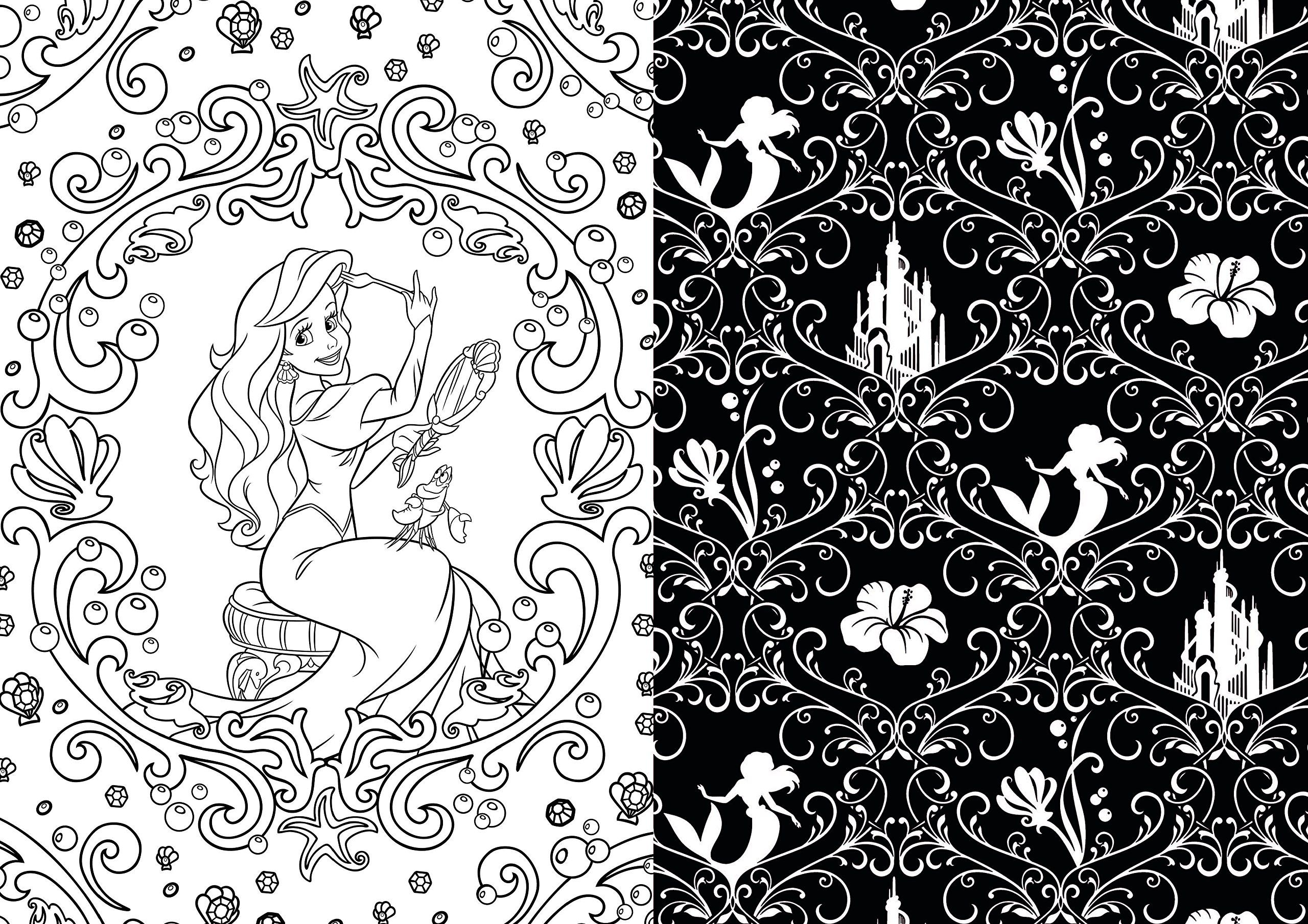 Disney Discovery- Disney Art Therapy Adult Coloring Books ...