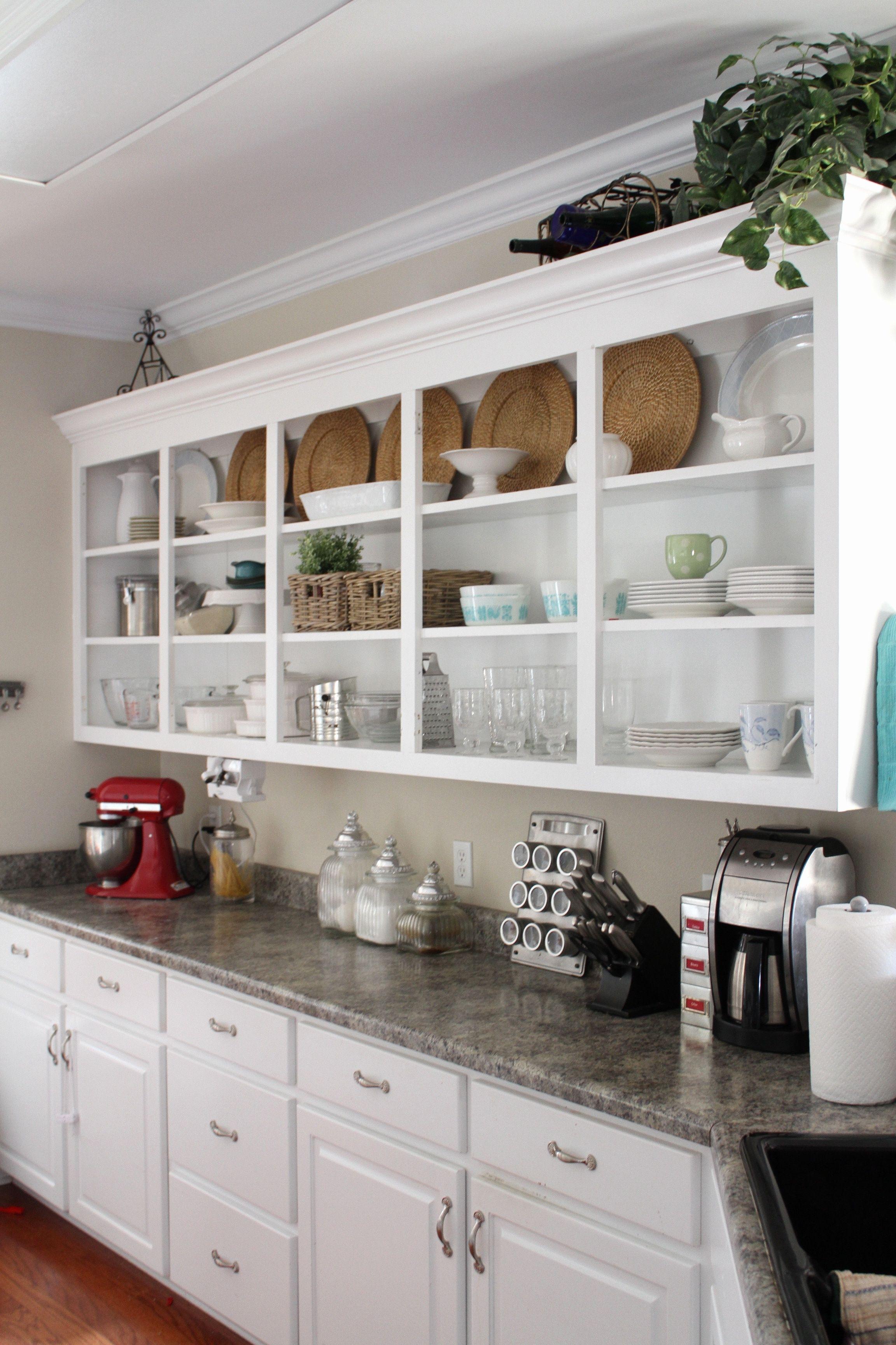 Kitchen Cabinet Doors For Open Shelving Open Kitchen Cabinets Open Kitchen Shelves Kitchen Design