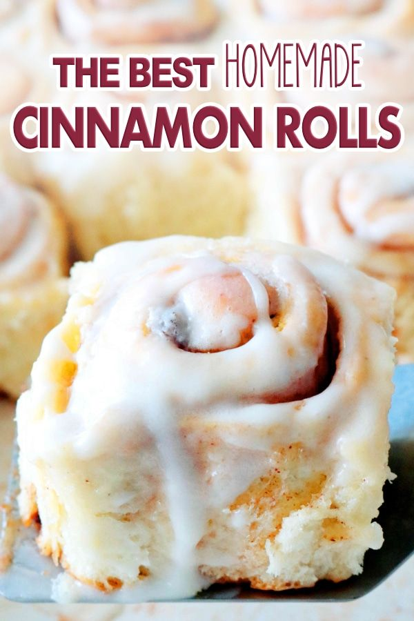 How To Make Cinnamon Rolls From Scratch - The Anthony Kitchen