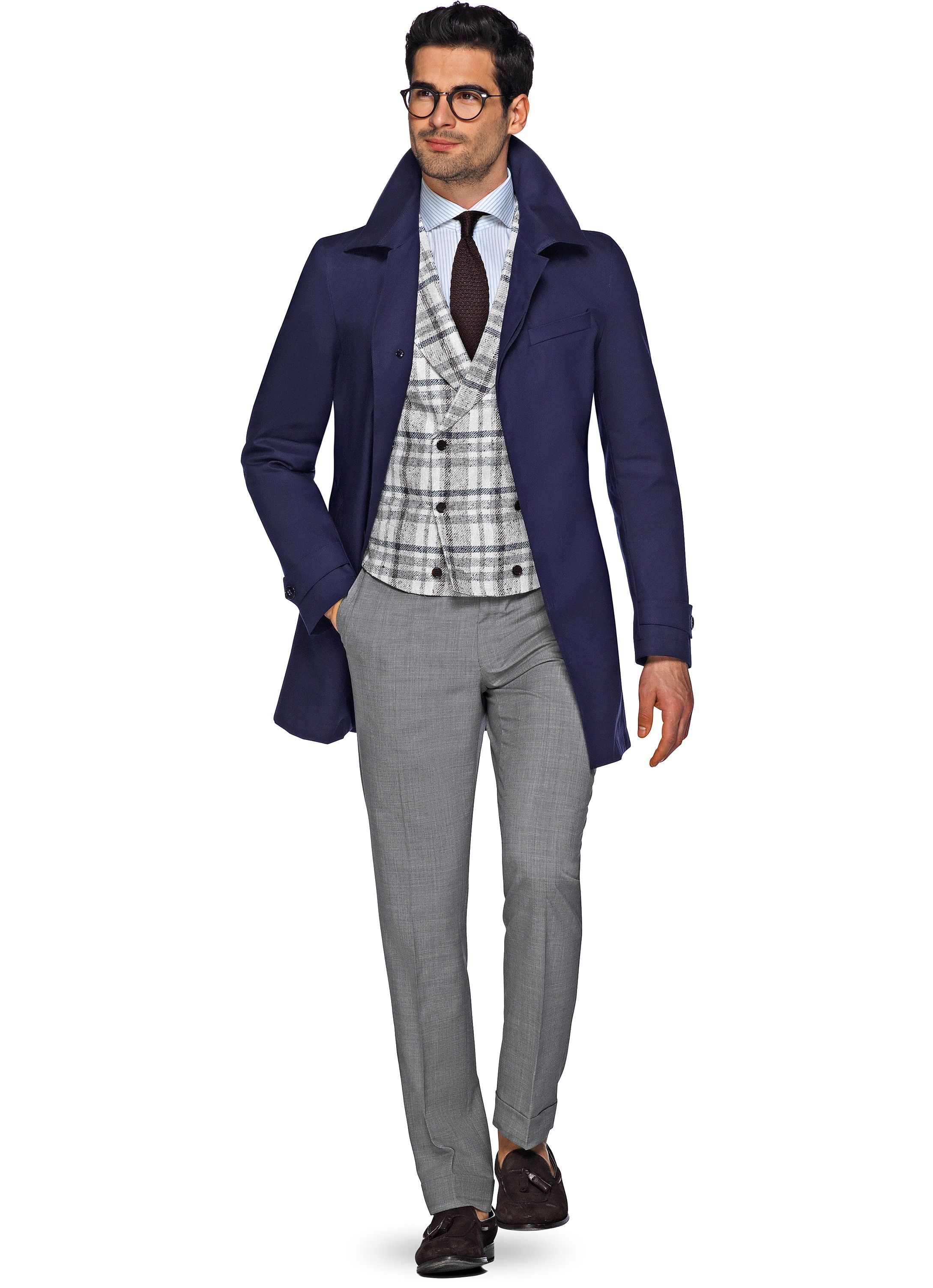laest technology the latest big selection Navy Raincoat J431i   Suitsupply Online Store   Outerware in ...
