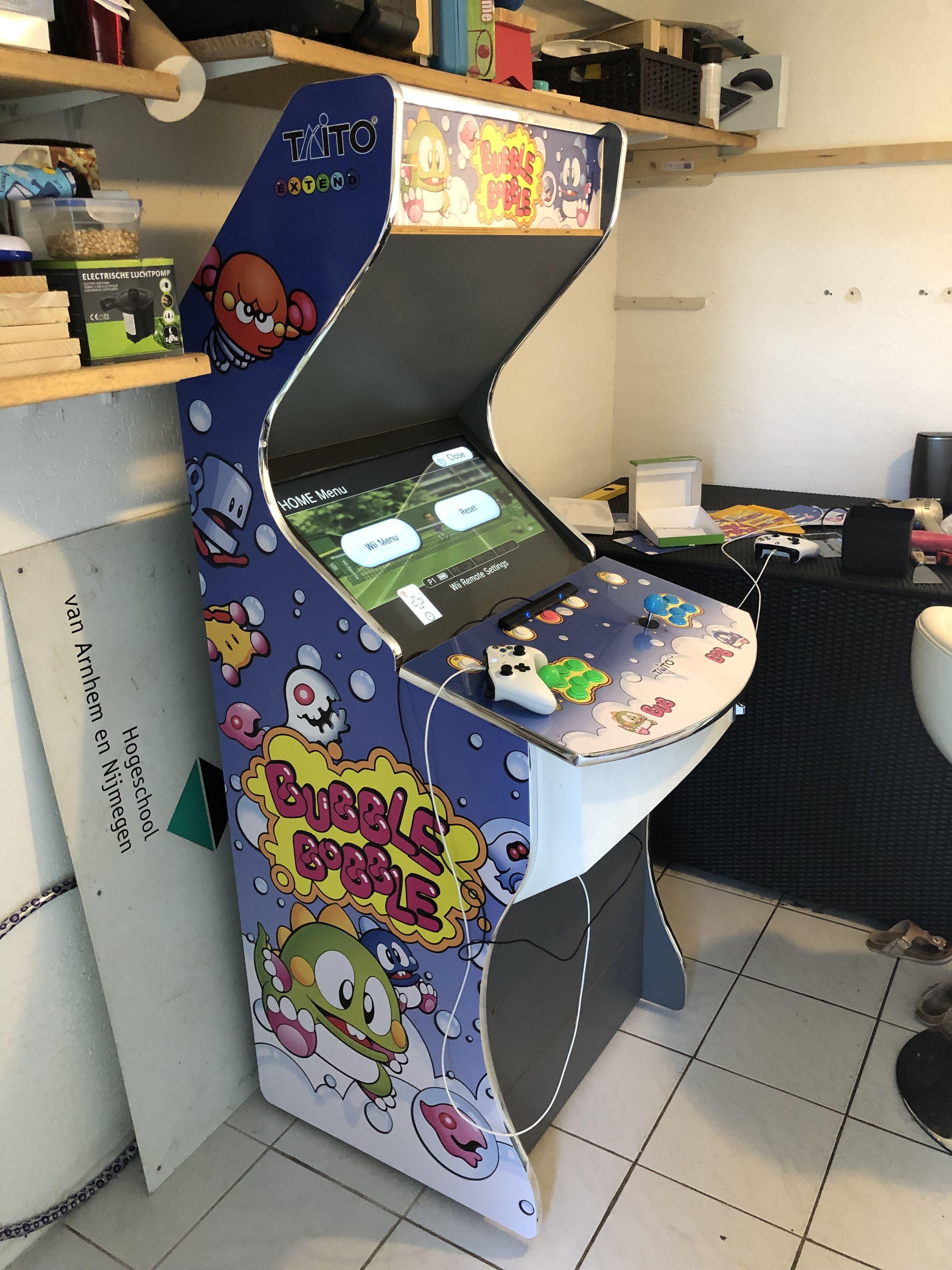 Bubble Bobble Arcade Cab Bubble Bobble Arcade Bubbles