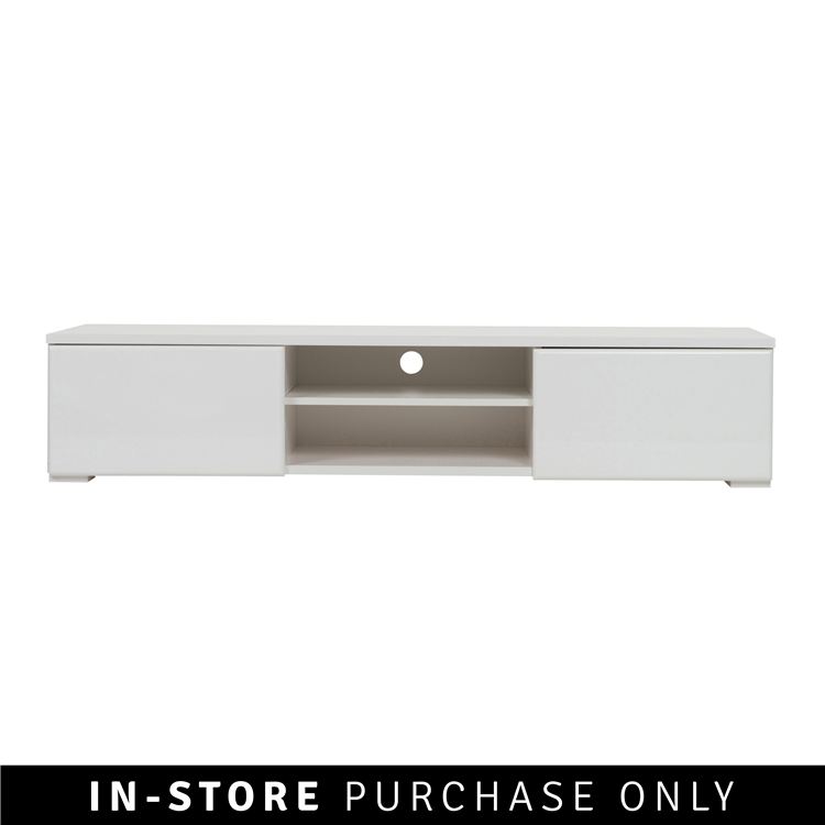 White puck tv table @Home R3499 | Living space | Living room