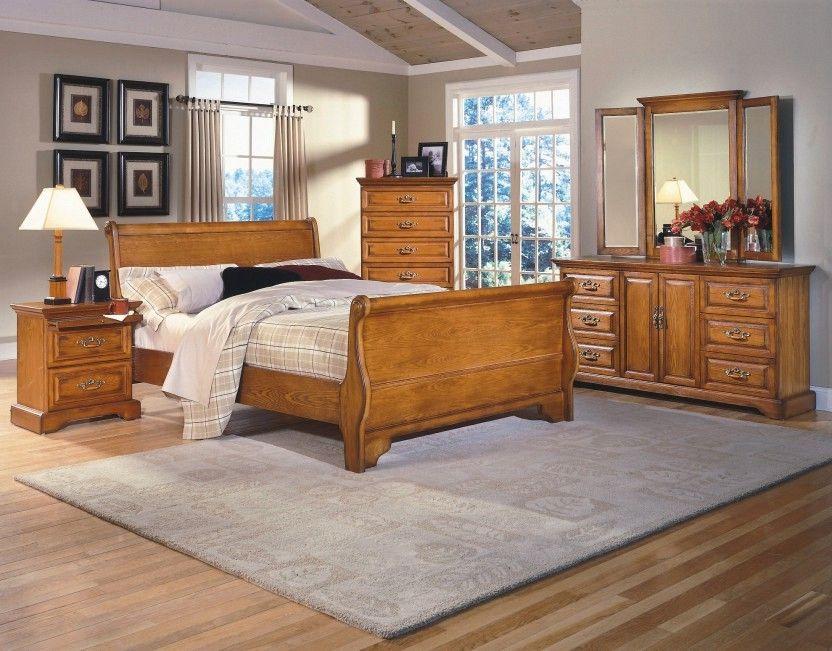 Image result for honey oak bedroom furniture (With images