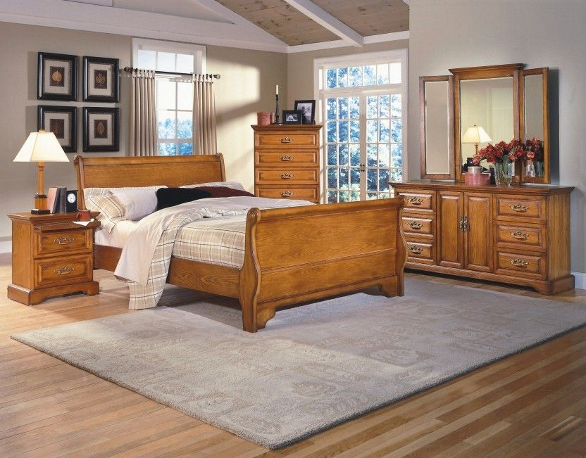 honey oak bedroom furniture