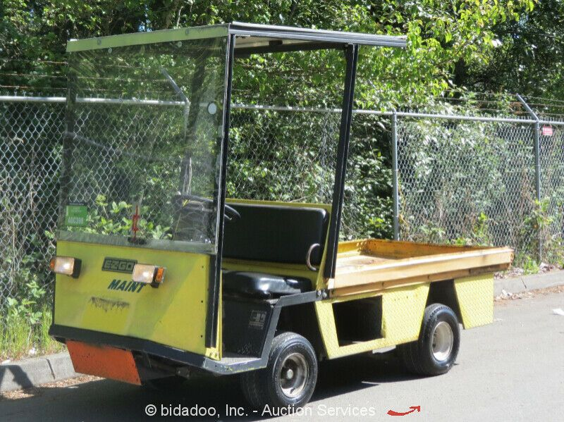 Sponsored Ebay Ez Go Textron Xi 875 3 000 Lb Utility Golf Cart Scooter 36v Charger Bidadoo Golf Carts Golf Heavy Equipment