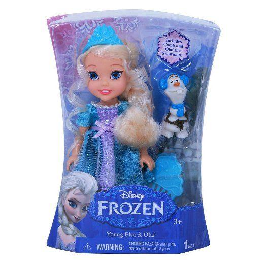 Disney Frozen - Young Elsa and Olaf Toys #DisneyFrozen