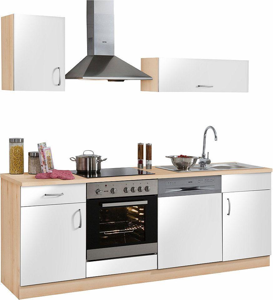 Küchenzeile »Brilon« mit E-Geräten, Breite 220 cm Jetzt bestellen ...