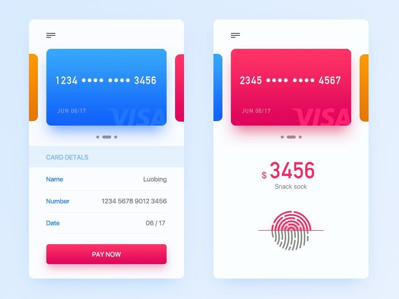 Credit Card Checkout Page UI Pinterest App design, Ui ux and - credit card form