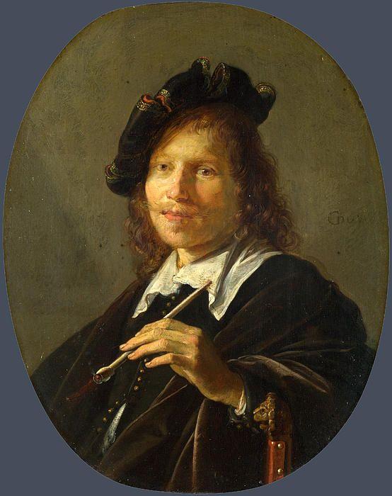 Portrait Of A Man  Gerrit Dou