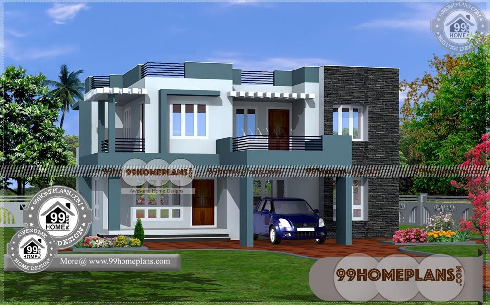 30 Lakhs Budget House Plans In Kerala Style 80 Two Story Home Plans Budget House Plans House Plans Latest House Designs