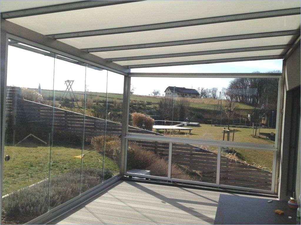 Terrassenanbau auf Säulen, Modell Alu Glas in 2019