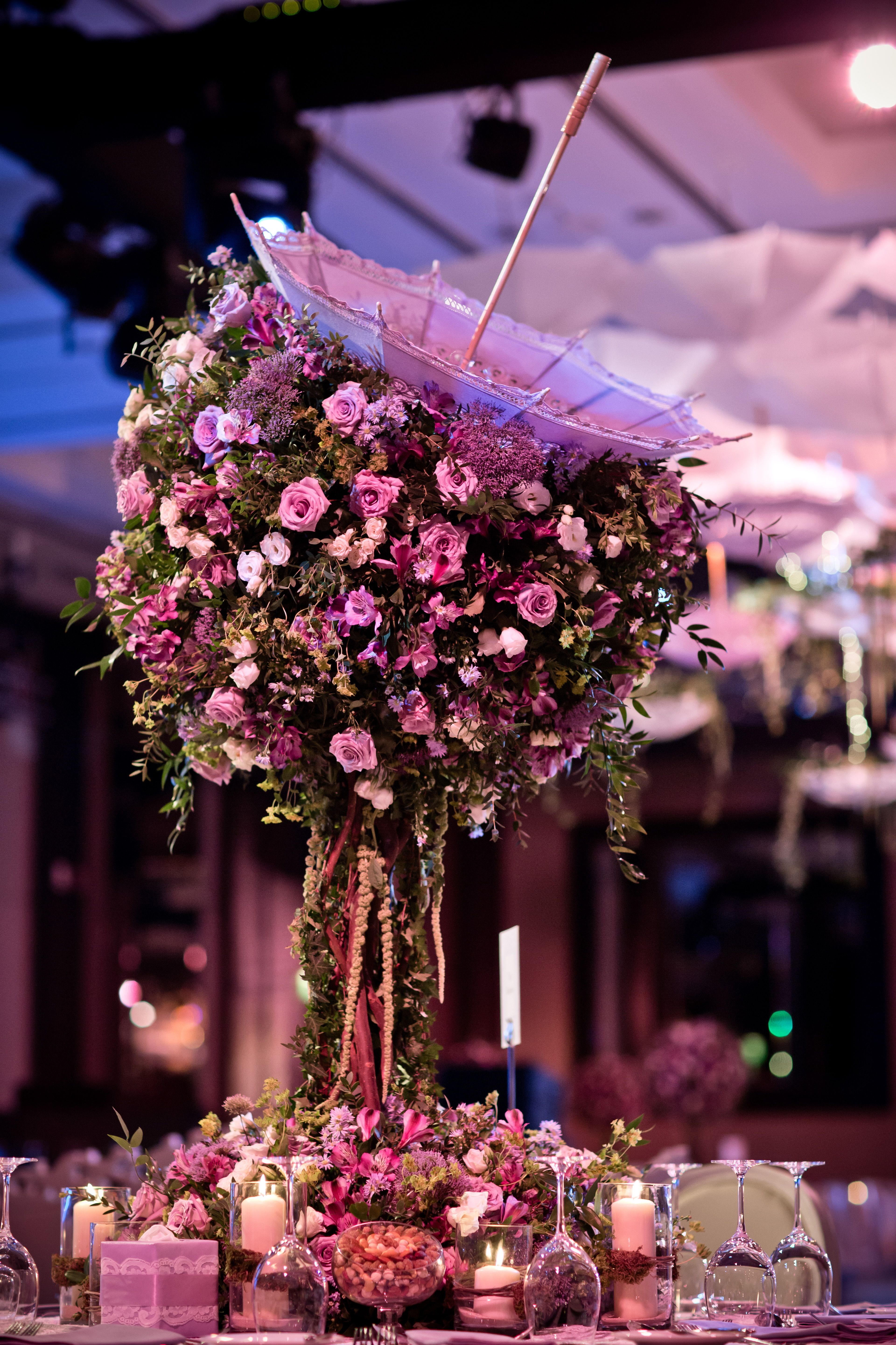 A magical garden inspired floral. Rustic and romantic