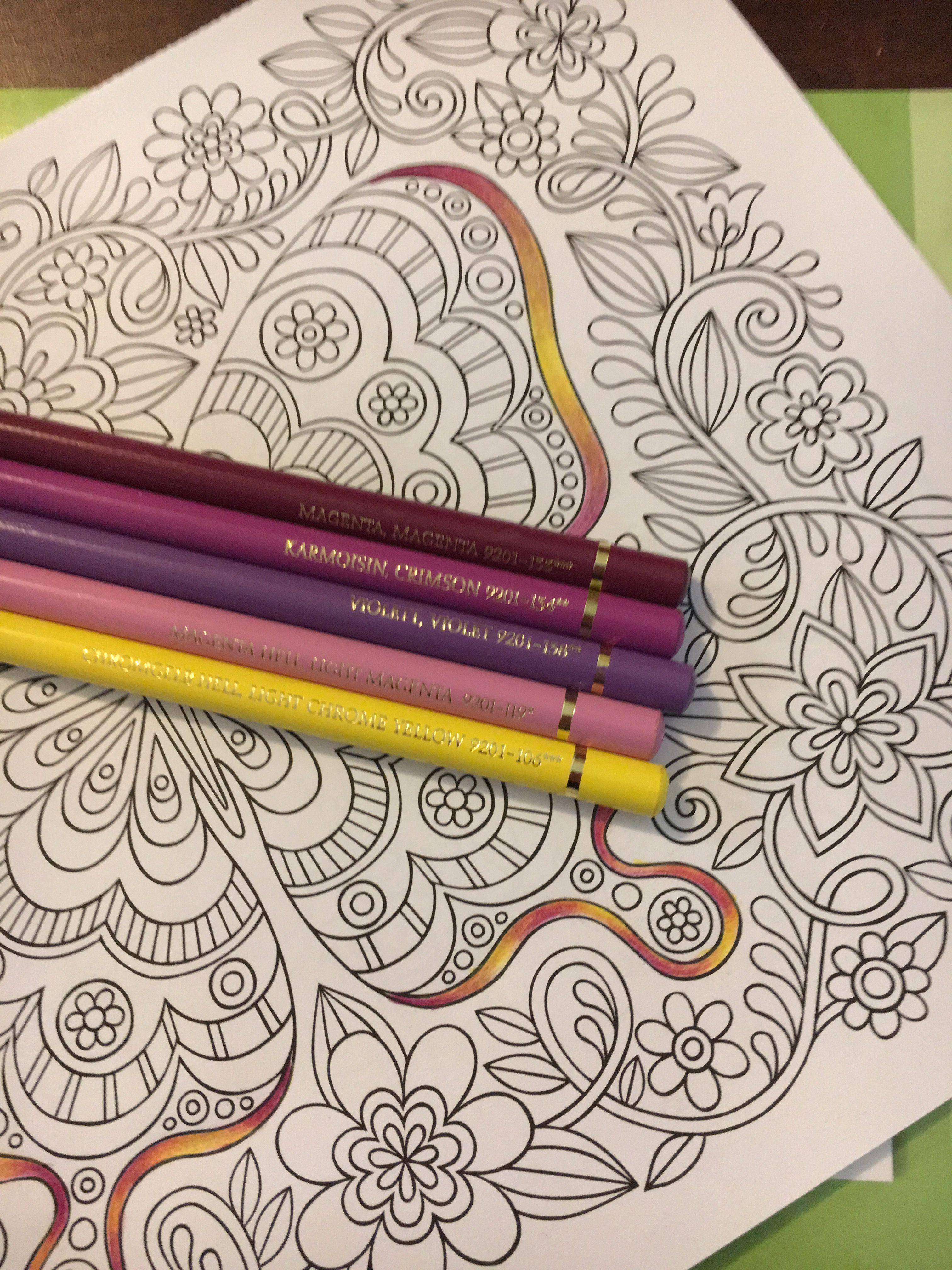 Colorist Carolyn Speir Polychromos Farbstift Kunst Copics