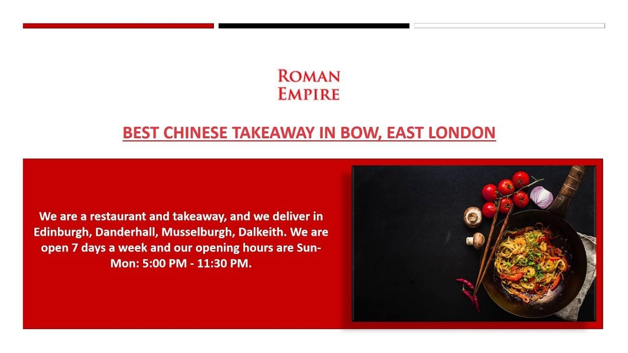 Chinese Takeaway Food Near Bow E3 The Roman Empire Eastbourne Chinese Takeaway Indian Food Recipes