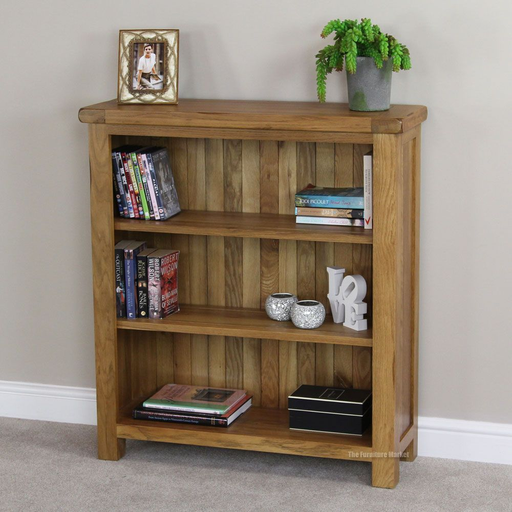 Antique Design Oak Bookcase