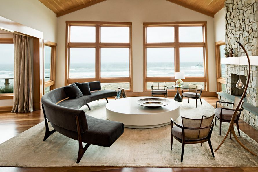 How To Find The Perfect Place For Your Curved Sofa Or Sectional New Circular Living Room Design Design Ideas