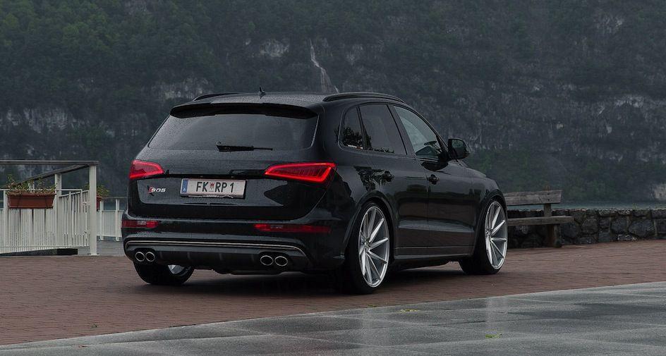 Audi sq5 on vossen vvs cvt suvs estates pinterest for Boden autohaus x5