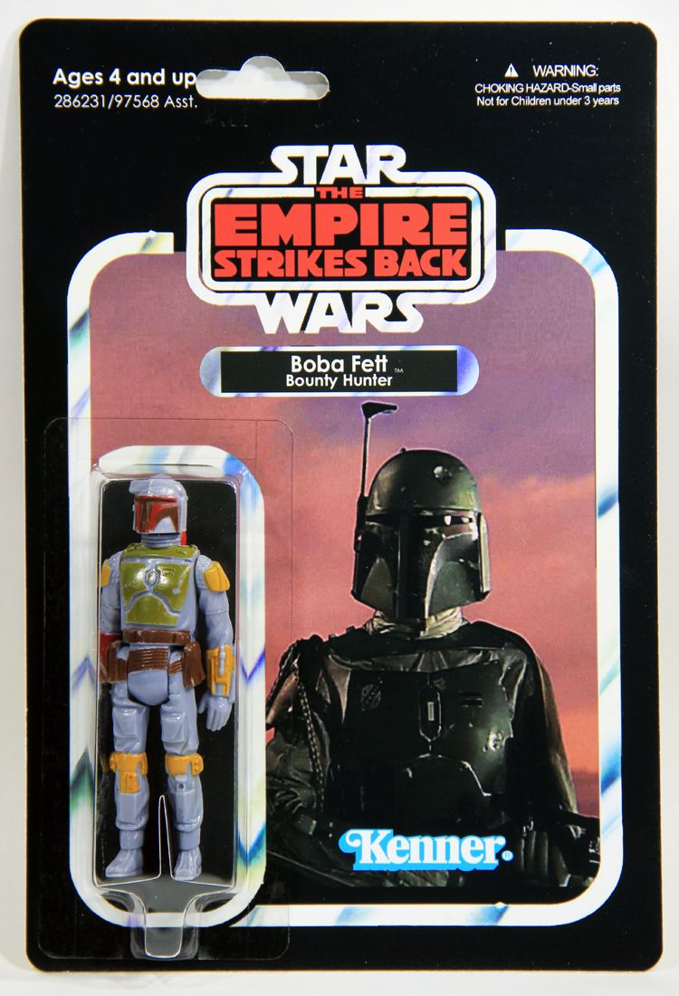 Star Wars Rétro Collection BOBA FETT figure The Empire Strikes Back WAVE 2 Neuf