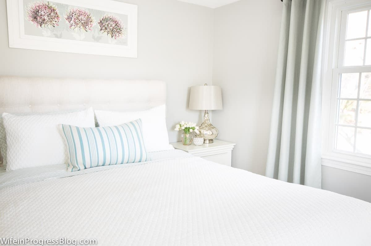 Benjamin Moore Stonington Gray A Relaxing Bedroom Paint Color