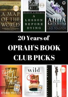 Oprahs new book club selection