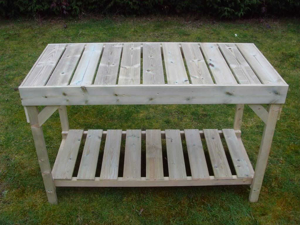Swallow Falcon Greenhouse Greenhouse tables, Wooden