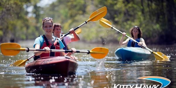 Kitty Hawk Kites Nags Head Kayak Sup Surf Board And