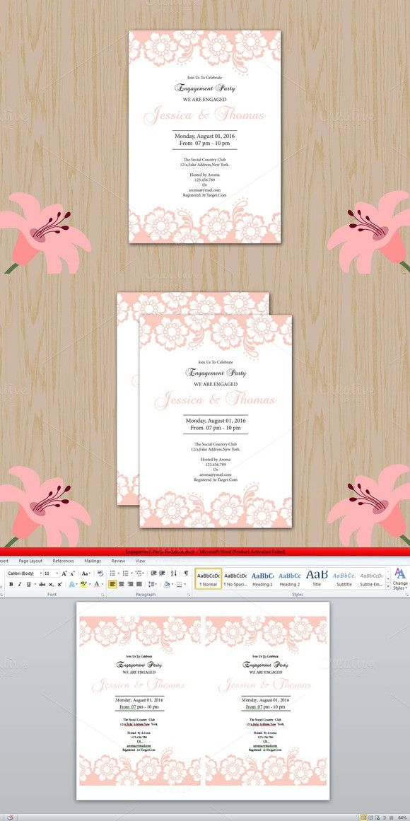 Engagement Party Invitation Template Invitation Templates - engagement invite templates