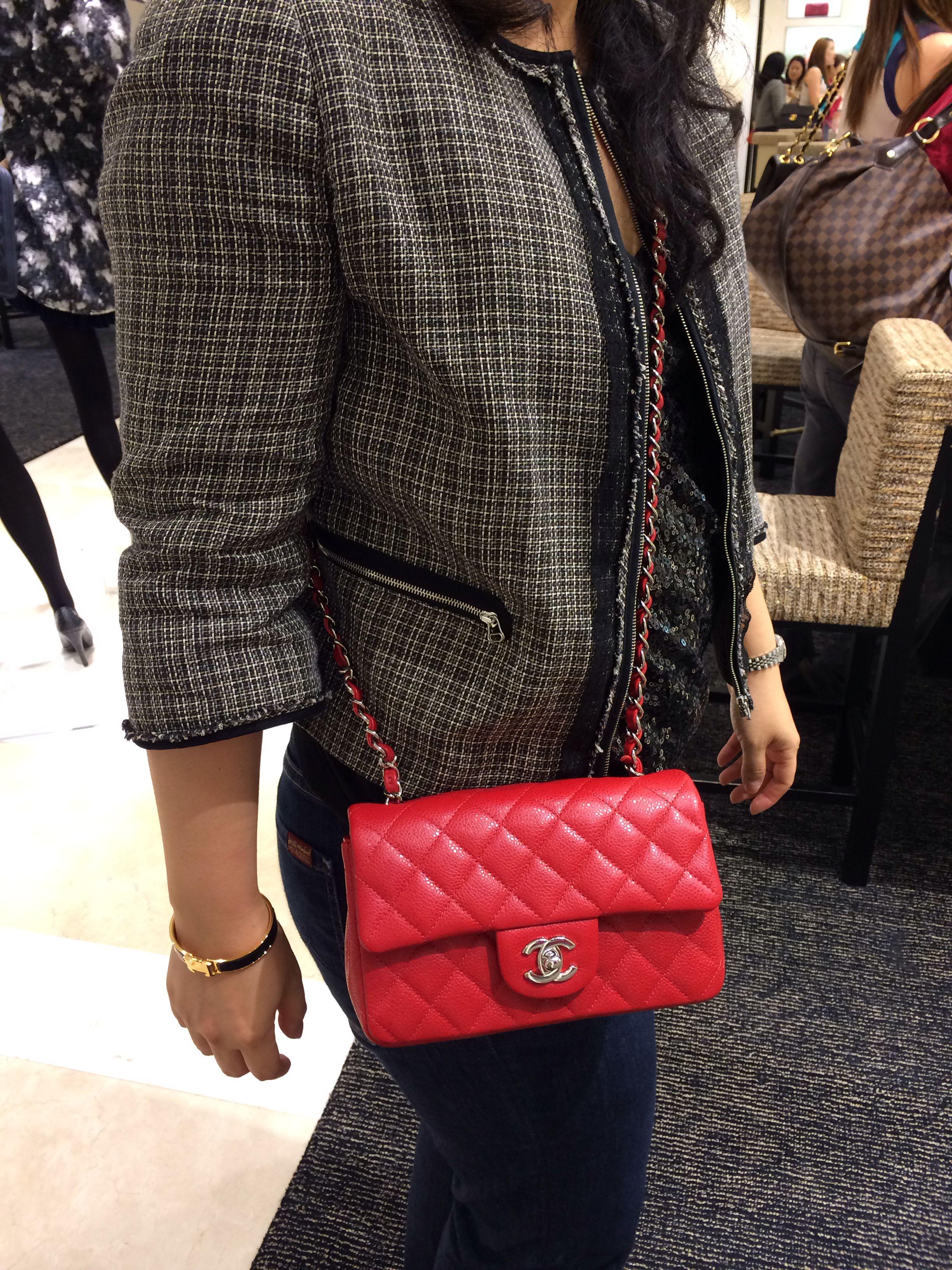 Chanel 14C Red Mini ❤ ❤ ❤  69675a5ad0c6