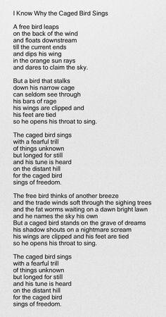 Pin By Carl Davis On Caprice The Caged Bird Sings Bird Quotes Bird Silhouette Tattoos