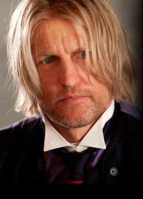 TheHungerGamesMov... has updated Haymitch's profile picture. He's looking a little loco in this one.