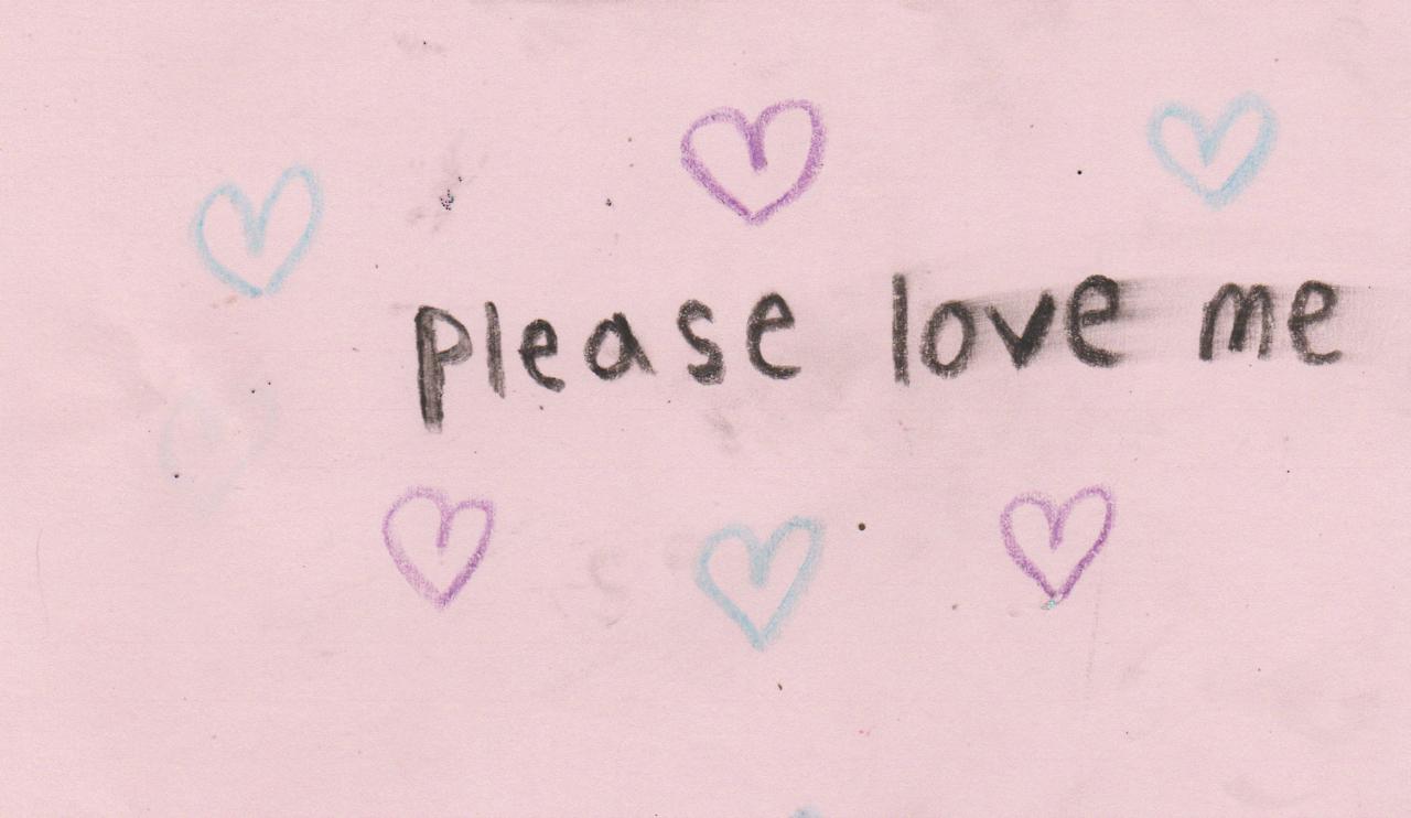 please love me //
