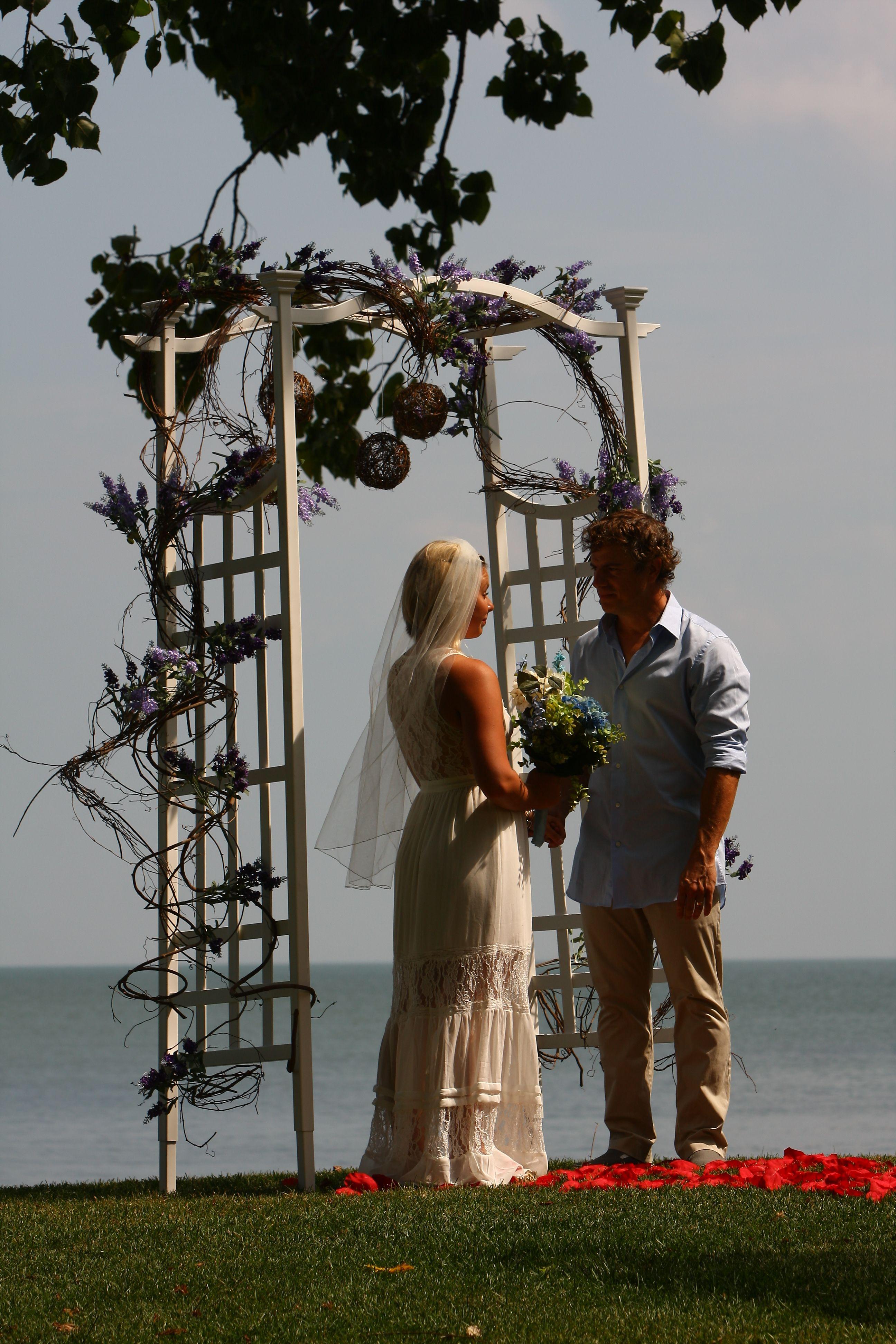 Wedding At Sawmill Creek In Huron Ohio