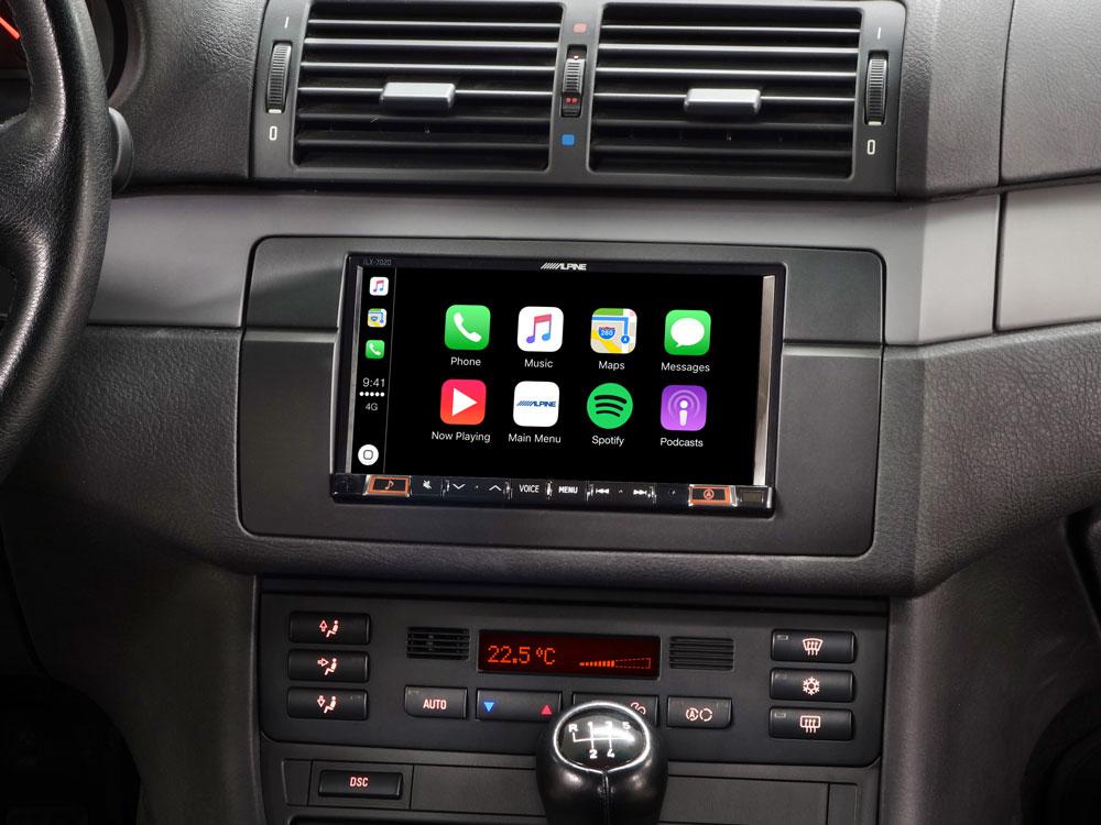 BMW 3 Series E46 Double DIN Upgrade Headunit with CarPlay