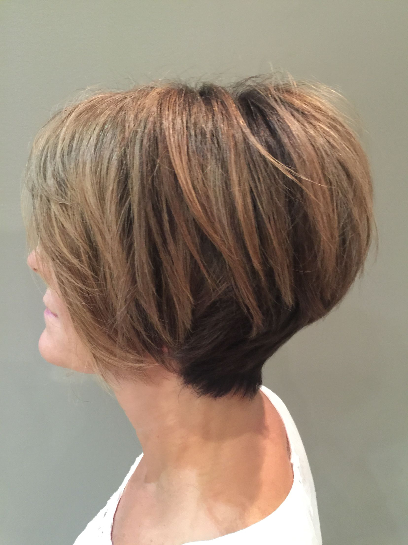 Longer bob now cropped shorter for summer super fresh yet still