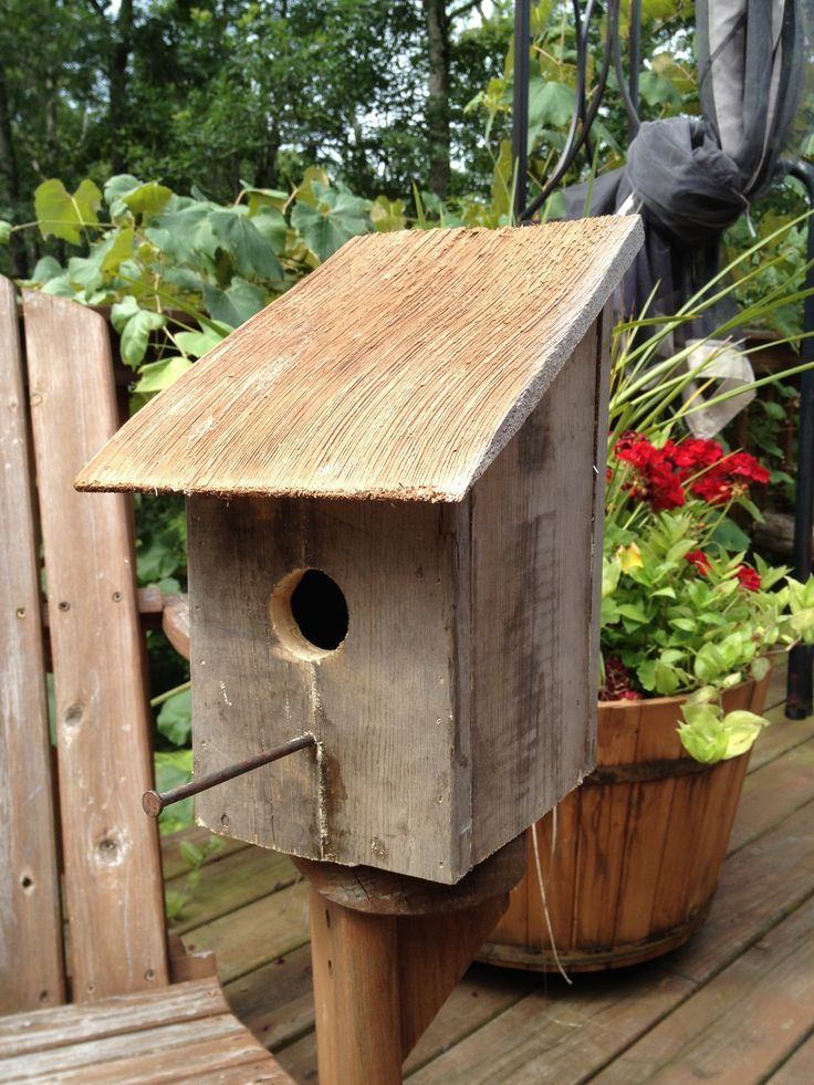 DIY Pallet Birdhouses Bird house from pallet wood and