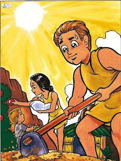 Apascentar os Pequeninos: Adão e Eva