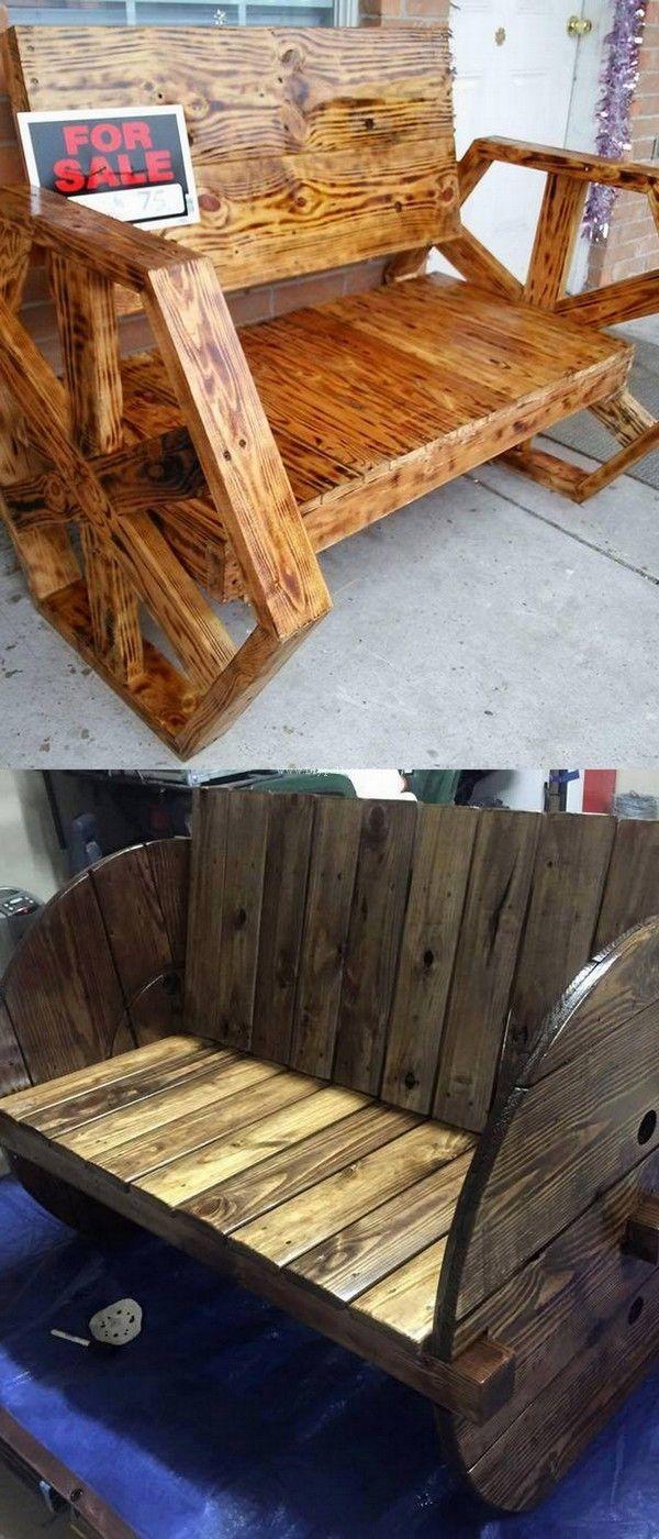Pin de jose luis en sillones para dos pinterest for Sillones de madera reciclada