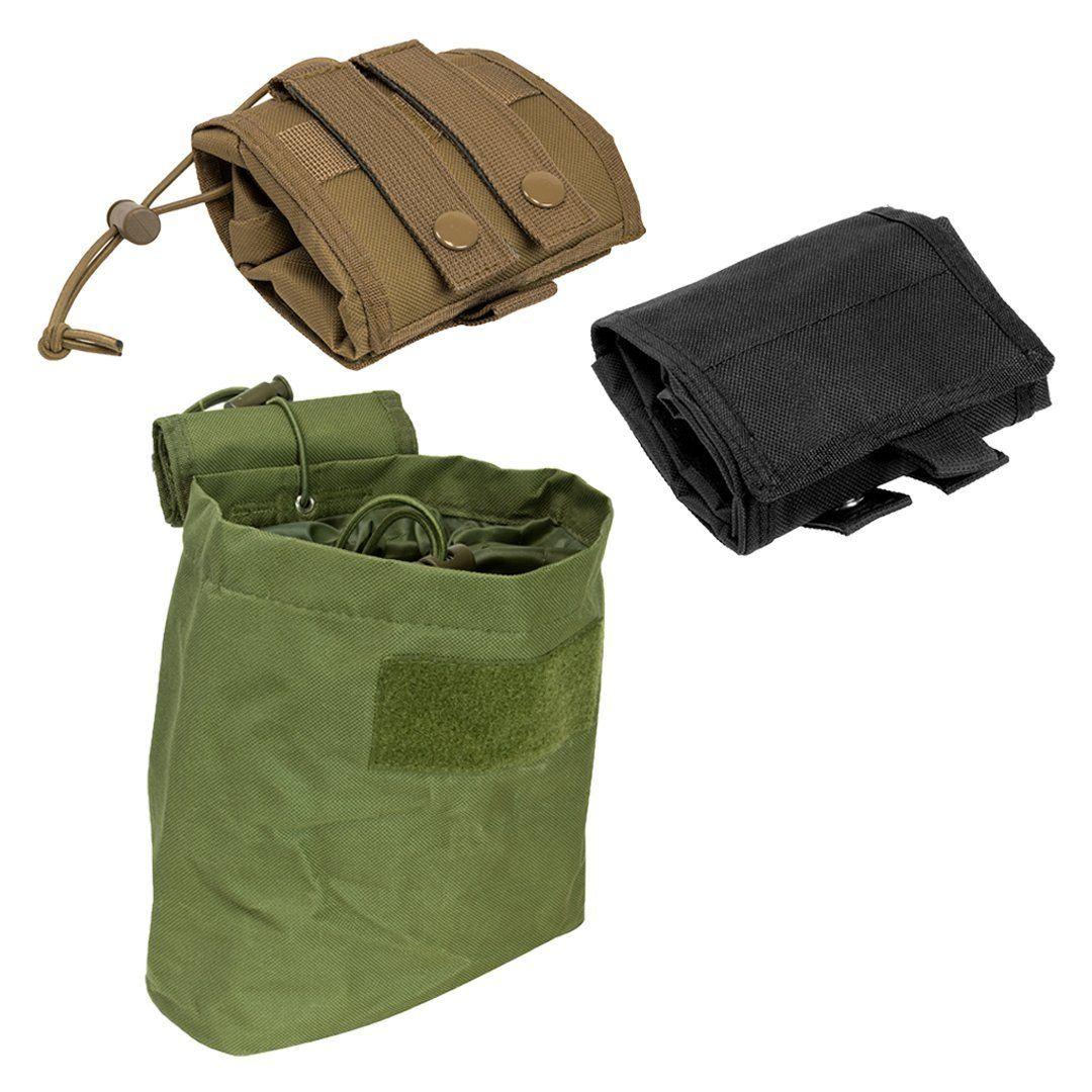 35fe0d521f1d Amazon.com : Tactical Compact Roll-Up Pouch Folding Dump Pouch ...