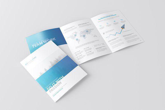 A4 3 Fold Brochure Mockup By Toasin Studio On Creativemarket Mock