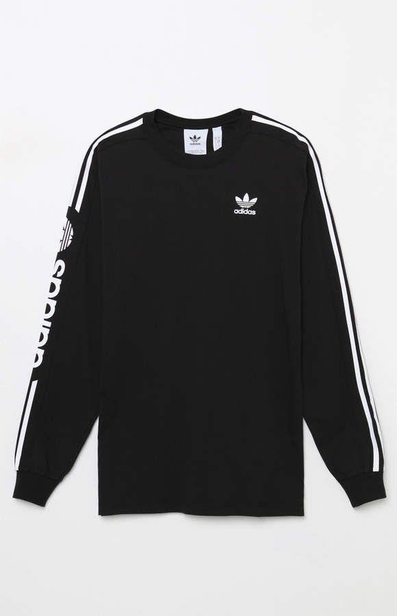 c456547d7bc8 adidas Graphic Black Long Sleeve T-Shirt